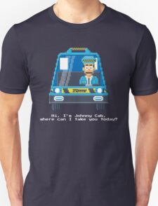 Johnny Cab - Total Recall Pixel Art T-Shirt