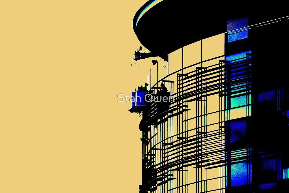 Window Cleaners by Stan Owen