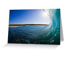 Mind Surf Greeting Card