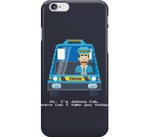 Johnny Cab - Total Recall Pixel Art iPhone Case/Skin