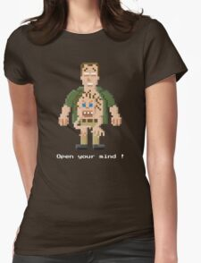 Kuato - Total Recall Pixel Art Womens Fitted T-Shirt