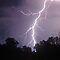 Staccato Lightning west of Warwick by Michael Bath