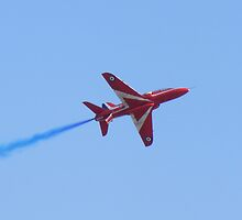 Red Arrow II by Martin  Egner
