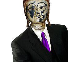 Man Buddha by Paul Cush