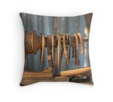 The Vintage Lathe, Howard, Queensland, Australia  Throw Pillow