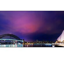 Sydney Harbour by Kirk  Hille
