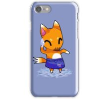 Animal Crossing Character: CRAZY Redd iPhone Case/Skin