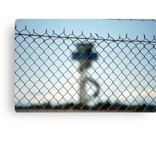 Border Security Canvas Print