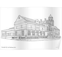 Nan Tait Building Poster