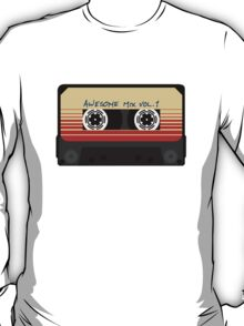 Awesome, Mix Tape Vol.1, Guardians of the galaxy T-Shirt