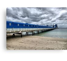 CBH Grain Terminal Conveyor - Kwinana Beach Canvas Print