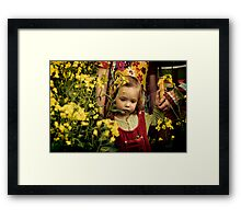 We don't see things as they are, we see things as we are Framed Print