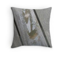 Another World (What World?) in a Puddle Throw Pillow