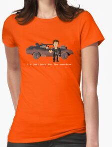 Max - Mad Max 2 Pixel Art Womens Fitted T-Shirt
