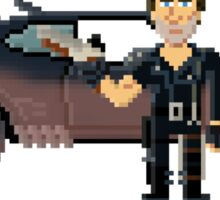 Max - Mad Max 2 Pixel Art Sticker