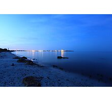 Island lights Photographic Print
