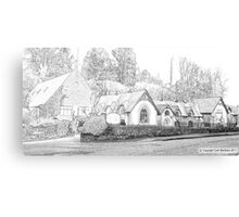Chequers Hotel Canvas Print
