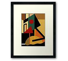 THE GEOMETRIST Framed Print