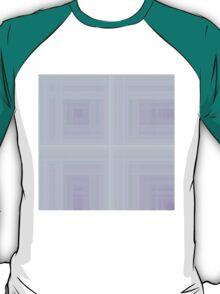 Rose-Violet Plaid T-Shirt