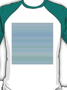 Cyan-Rose-Blue Stripes T-Shirt