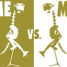 ME vs. ME by massimobianchi