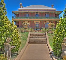Monte Cristo Mansion, Junee, NSW, Australia by Adrian Paul