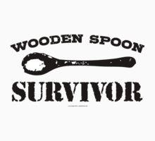Wooden Spoon Survivor by Albany Retro