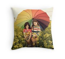 you promised me sunshine Throw Pillow