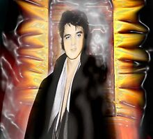 ELVIS, HIS BURNING LOVE by Frances Perea