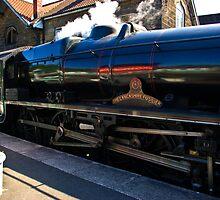 Steam at Grosmont by Trevor Kersley