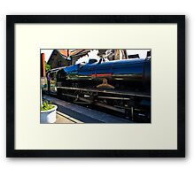 Steam at Grosmont Framed Print