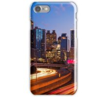 Atlanta Skyline at Night iPhone Case/Skin