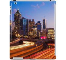 Atlanta Skyline at Night iPad Case/Skin
