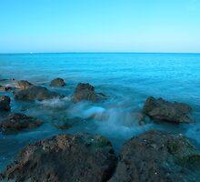 Rocky coast by kathy s gillentine