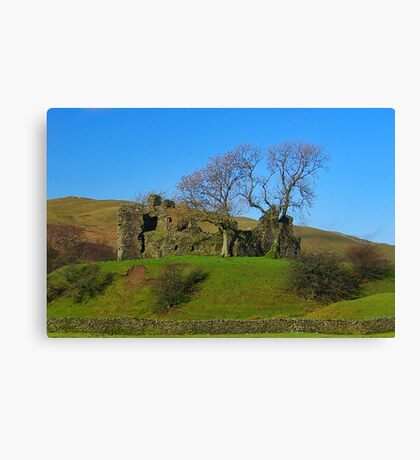Pendragon Castle Ruins Canvas Print