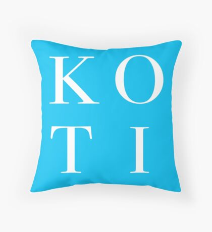 Koti Throw Pillow