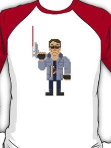 T800 - Terminator Pixel Art T-Shirt