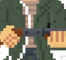 Kyle Reese - Terminator Pixel Art Sticker