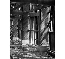 The Empty Barn Photographic Print