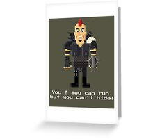 Wez - Mad Max 2 Greeting Card