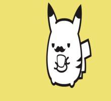 Moustache Pikachu Kids Clothes