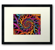 Rainbow Fusion Framed Print