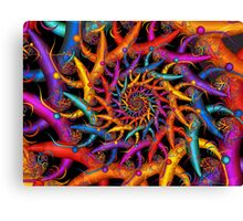 Rainbow Fusion Canvas Print
