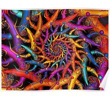 Rainbow Fusion Poster