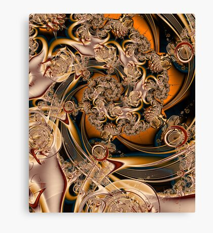 ONE LAYER Canvas Print
