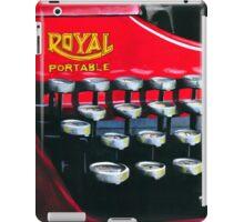 Red Royal iPad Case/Skin