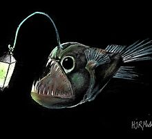 Angler with a Lamp by hjrmackereth