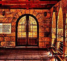 Medieval Church St Petka Kelemegdan Fortress Belgrade by stockfineart