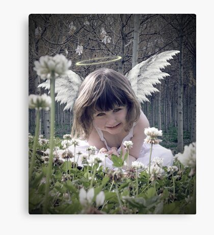 Lil Angel Canvas Print