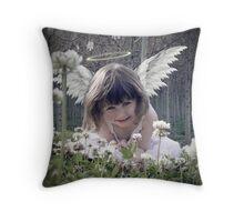 Lil Angel Throw Pillow